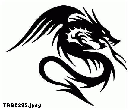 Wzory Tatuaży Smoki 12