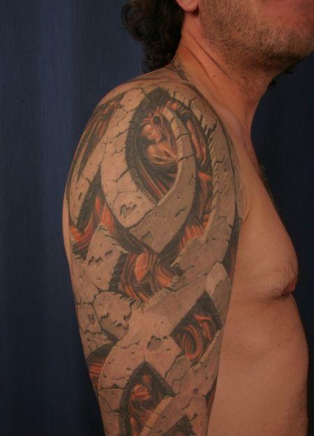 Wzory Tatuaży Tatuaże 3d 2